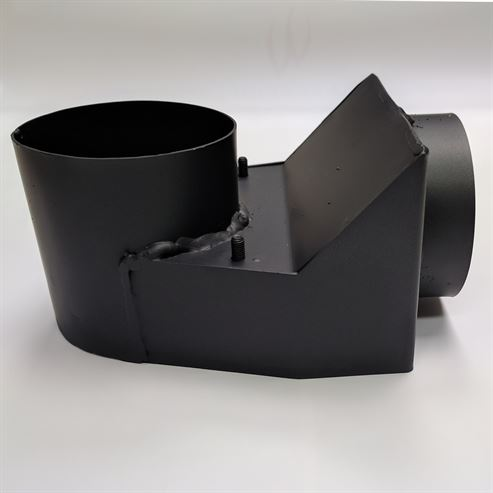Picture of Closed Combustion Rear Adaptor V.2 for Mendip Stoves