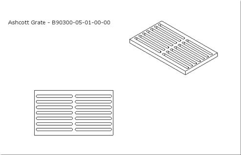 Picture of Ashcott - Cast Iron Grate