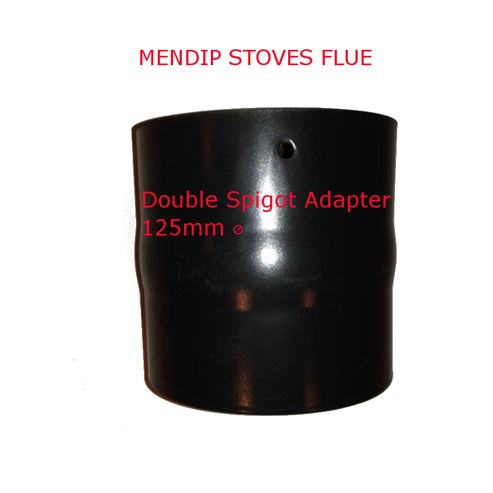 Picture of Double Spigot Adapter 125mm