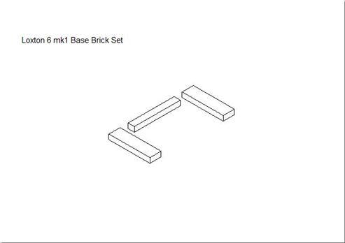 Picture of Loxton / Churchill 6kW mk1 Base Brick Set