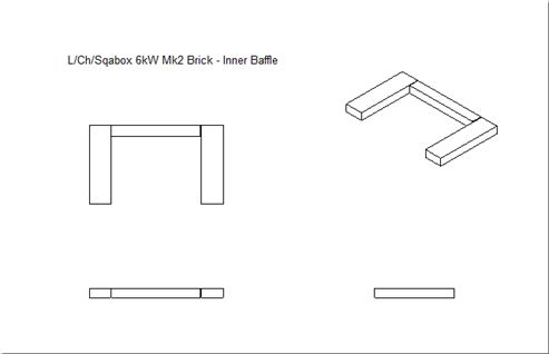 Picture of Loxton / Churchill / Sqabox 6kW mk2 Base Brick Set