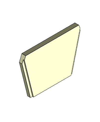 Picture of Baffle Brick - MP Somerton II Side Glass