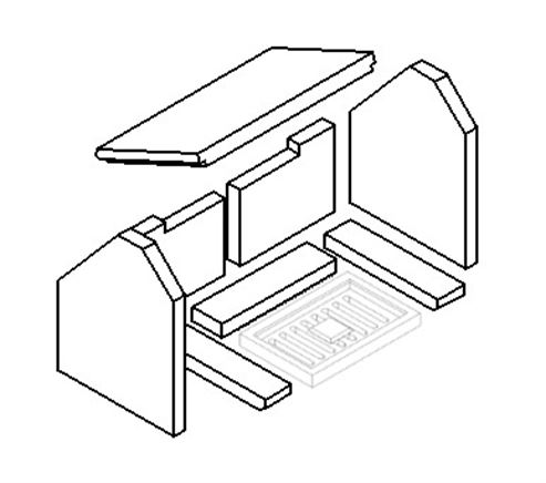 Picture for category EMG Grate - 305mm x 205mm x 30mm