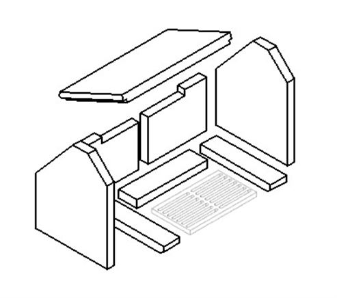 Picture for category Plain Grate - 282mm x 162mm