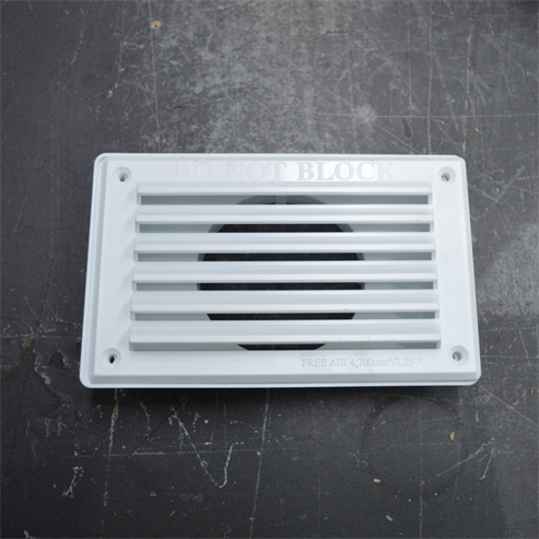Picture of Closed Combustion Ducting Kit (CCDK) 300cm x 80mm ø (Coloured Grills)