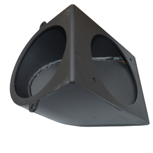 Picture of MP 125mmø Rear Flue Vertical Extension - Version 1