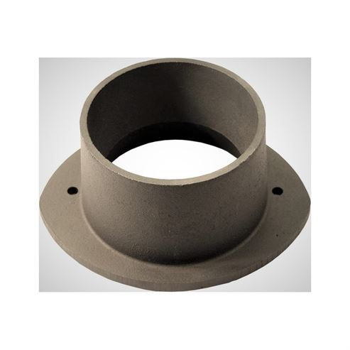 Picture of Cast Iron, 4in Flue Collar - Cast Black