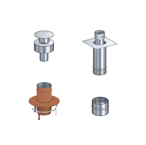 Picture for category Gas Flue Kit 3 - Renovation Kit
