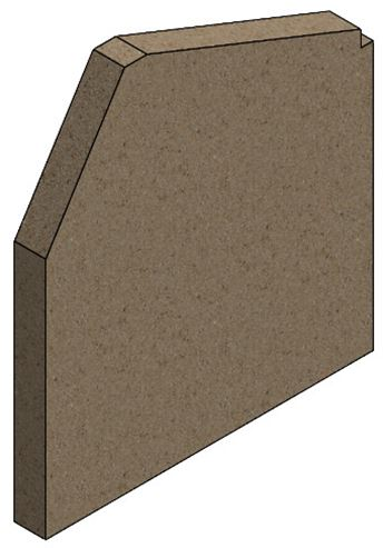 Picture of Vue Portrait, Accona Side Brick (Single)