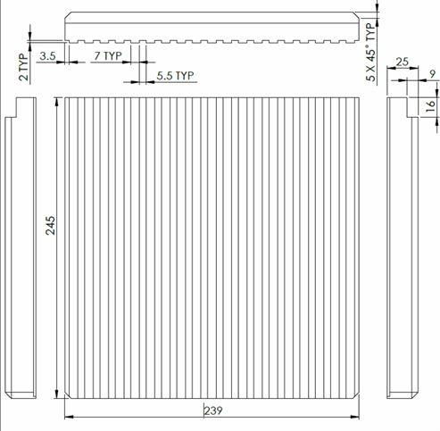 Picture of Lox/Chu 8KW Mk.3 Rear Brick Set V1