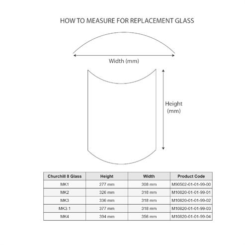 Picture of Churchill 8 MK4 Glass